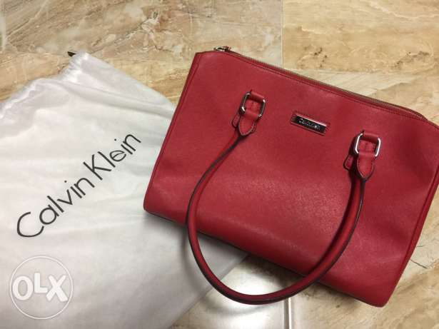 New without tags Red original Calvin Klien bag from USA