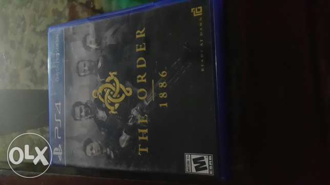The Order PS4 Game used for 2 days for sale or trade
