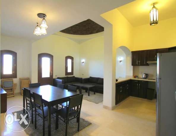 2 bedroom apartment with 2 balconies in West Golf, El Gouna الغردقة -  6