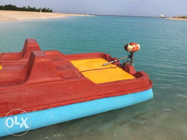 In Hurghada for sale catamaran, second hand, made in Germany, 3,5 CC الغردقة -  3