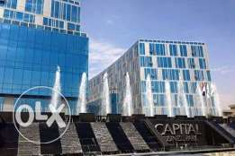 Office for rent capital Business park كابيتال بيزنس بارك
