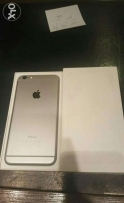 IPhone 6 plus 16 giga grey with box all original accessories like new