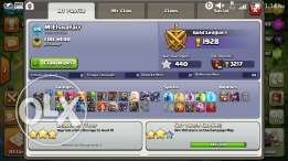 Clash of clans تاون هول ٩ ماكس