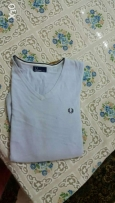 fred perry 100%.قطن XL