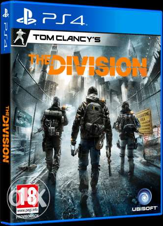The division ps4 cd