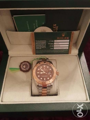 Rolex Yacht Master1 Rose-Gold first copy with box and Int. guarantee القاهرة -  3
