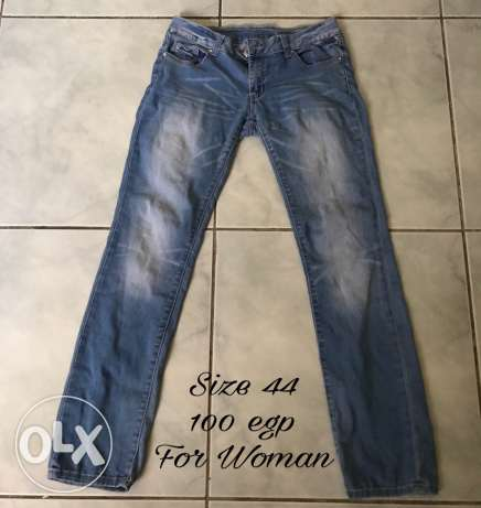 Jeans for woman Size 44