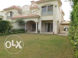 Villa Twin house for rent in Very Beautiful Compound in New Cairo