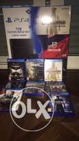 PS4 1TB bundle for sale with 8 games