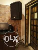"""4 Speakers """" Fdb ft15 """" Original """" Pre """" for sale with Amplifier"""