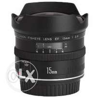 Looking for: Canon EF 15mm f/2.8 Fisheye Lens
