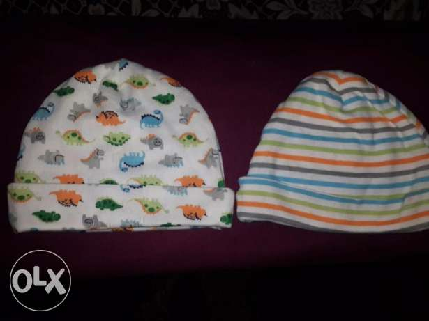 2 baby hats from USA