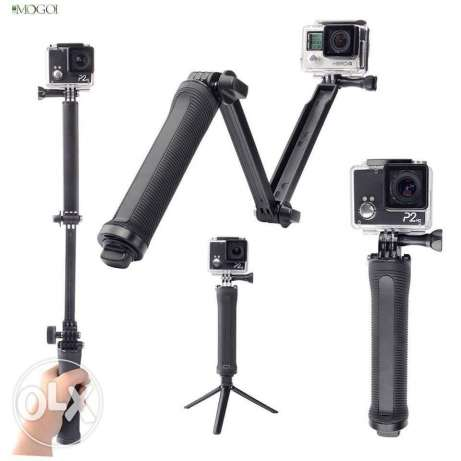 3 way arm for gopro
