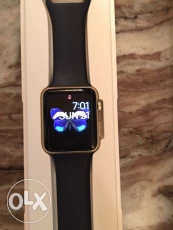 apple watch 42 mm gold