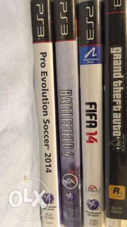 PS3+4 dics + 2 perfect condition controllers القاهرة الجديدة -  2