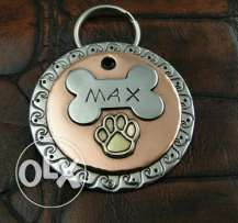 Dogs name tag