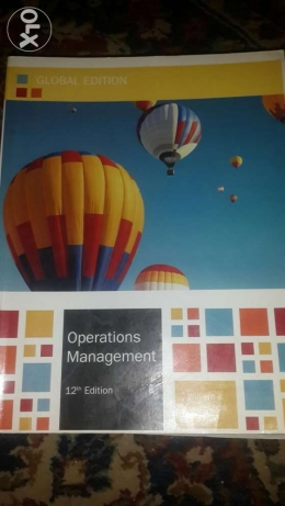 operation management 12th edition global edition