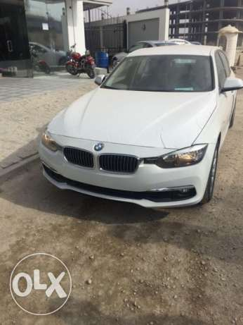bmw 318i white luxury 2017