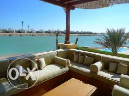 4 bedrooms villa El Gouna with private pool for rent