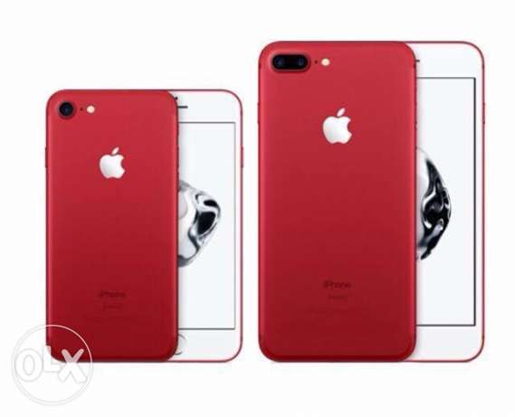 iphone 7 plus 128 red