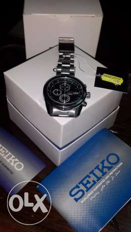 Seiko Chronograph Mens Watch 100M SNDE47J1