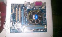 Gigabyte H61 With processor