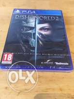 Dishonored 2 PS4 جديدة