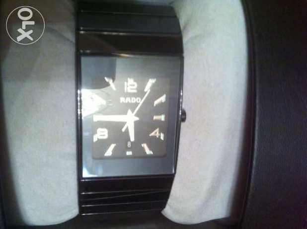 Rado watch ceramic black - Swiss made