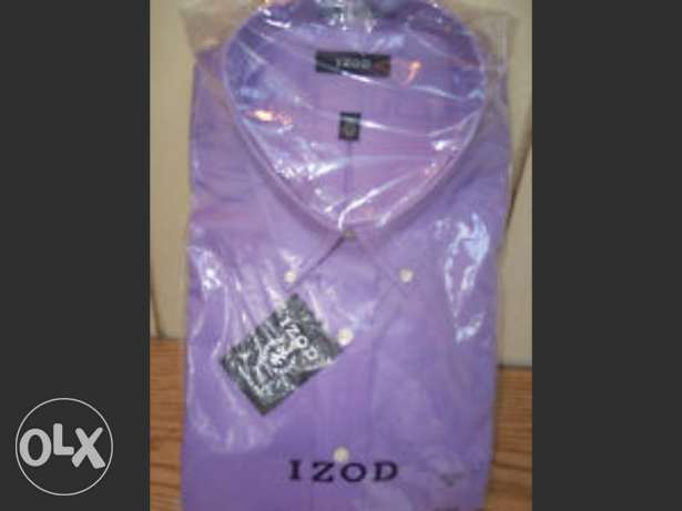 IZOD shirt purple colour USA القاهرة -  1