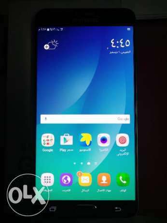Galaxy note 5 32g blue used for one.month with box مصر الجديدة -  2