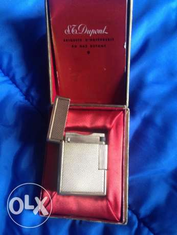S.T. dupont gold lighter original