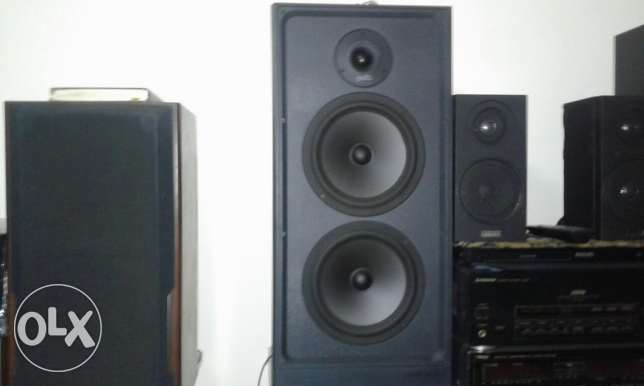 Polkoudio Speakers imported USA 300w