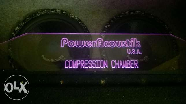 power acoustik subwoofers USA 12 inch 2700 watts إمبابة -  6