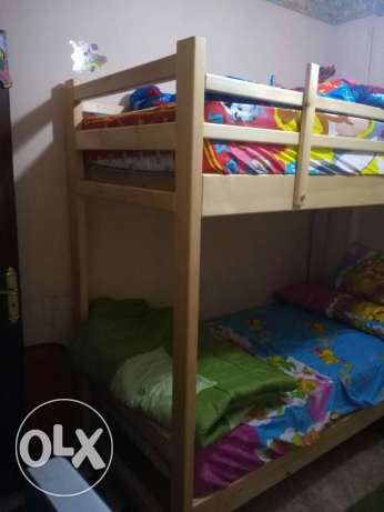 Double Deck Bed سرير دورين أطفال