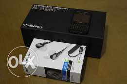 BlackBerry Porsche Design P'9981 + Free BOSE QC20 Noise Canceling HP
