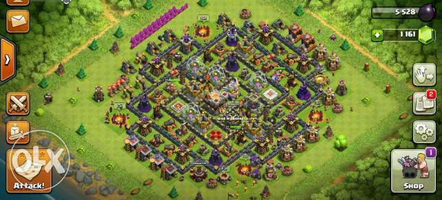clash of clan acc town hall 11