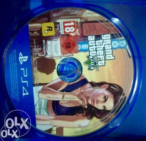 CD gta. i5 ps4