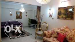 New flat for rent Nasr city with new furniture, appliances