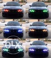 BMW Angel Rings For BMW Multi Colour With Remote Control