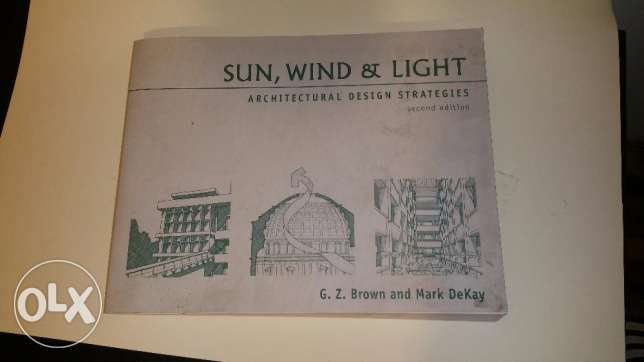 sun,wind and light - architectural design strategies - second edition