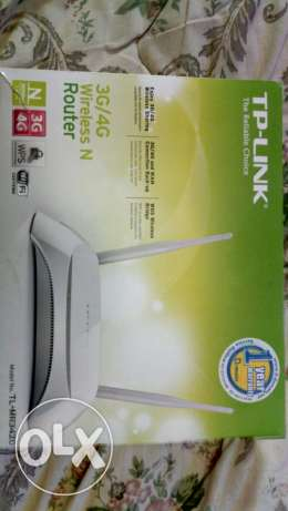 The router is new tplink 3g /4g wireless router