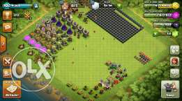 Clash of clans town hall lvl9