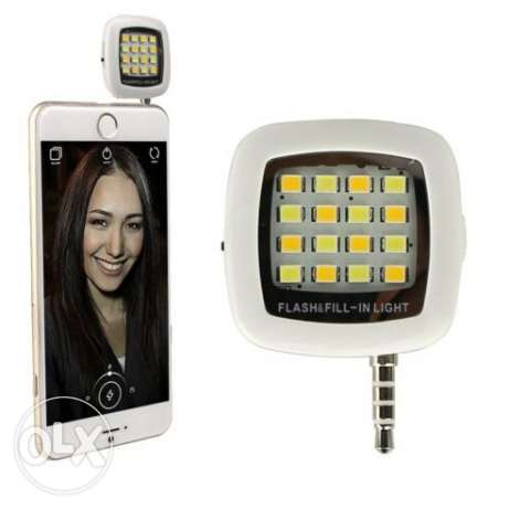 فلاش السيلفي selfie led flash