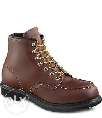 Red wings safety shoes المعادي -  2