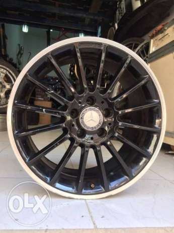 MERCEDES BENZ   mide in garmany     18 2ince for CLA 200 OR 180   /////A M G مدينة دمياط -  5