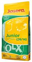 Josera Junior Dry Food + 2 Large Bowls