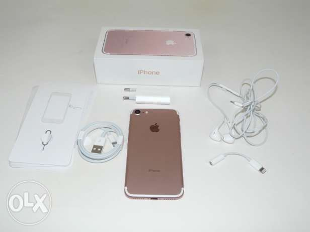 (IPhone 7 (Rose-gold -128G
