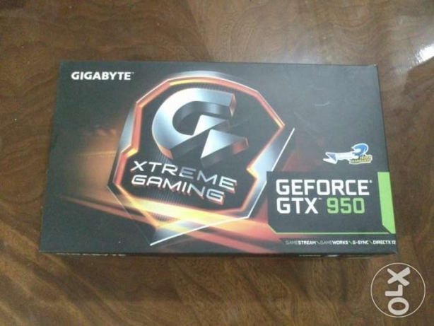Gigabyte GTX 950 xtreme gaming edition للبيع