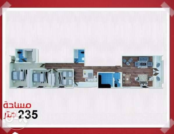 Apartment for sale in #shrouk_ city near by #carrfour _market