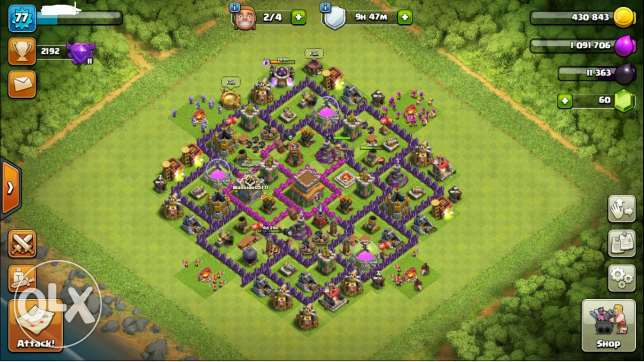 1 Account 3 Games Clash Of Clans / Boom Beach / Clash Royale